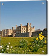 Leeds Castle In Spring 2 Acrylic Print