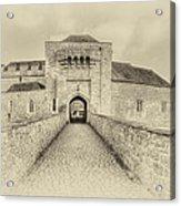 Leeds Castle Nostalgic 3 Acrylic Print