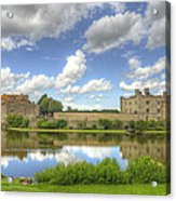 Leeds Castle Reflected Acrylic Print