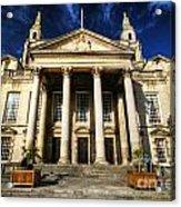 Leeds Civic Hall Acrylic Print
