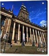 Leeds Town Hall Acrylic Print