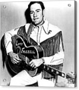 Lefty Frizzell, 1950s Acrylic Print by Everett