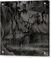 Legend Of The Old House In The Swamp Acrylic Print