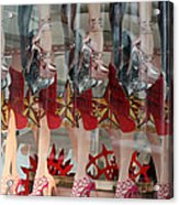 Legs Legs Legs Acrylic Print