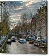 Leidsegracht. Amsterdam Acrylic Print