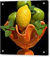 Lemon And Grannies Acrylic Print