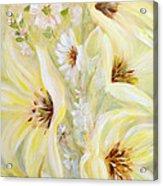 Lemon Chiffon Acrylic Print