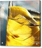 Lemon Drink Acrylic Print by Carlos Caetano