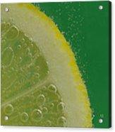 Lemon Slice Soda 2 Acrylic Print