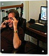 Len Calling 2009 Acrylic Print