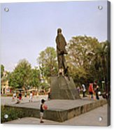 Lenin In Hanoi Acrylic Print