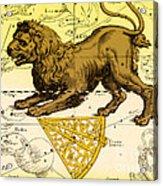 Leo, The Hevelius Firmamentum, 1690 Acrylic Print by Science Source