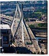 Leonard Yakim Bunker Hill Memorial Bridge Acrylic Print