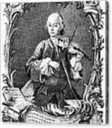 Leopold Mozart (1719-1787) Acrylic Print