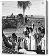 Leper, 1837 Acrylic Print