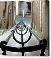 Lerwick Lanes Acrylic Print