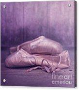 Les Chaussures De La Danseue Acrylic Print