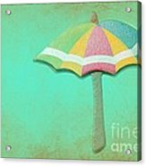 Let It Rain 1 Acrylic Print by Sophie Vigneault