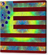 Let Your Freak Flag Fly Acrylic Print