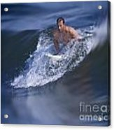 Let's Go Surfing Acrylic Print