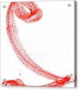 Letter 1 Acrylic Print