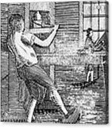 Letter Press Printer, 1807 Acrylic Print