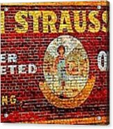 Levi Strauss Acrylic Print by Randall Weidner