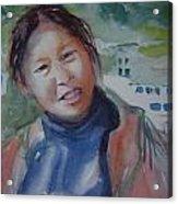 Lhamo-la Acrylic Print