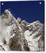 Lhotse And Lhotse Sar Acrylic Print