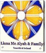 Liana Me Alyah Acrylic Print