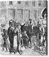 Liberated Slaves, 1861 Acrylic Print