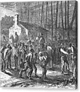 Liberating Slaves, 1864 Acrylic Print