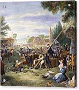 Liberty Pole, 1776 Acrylic Print