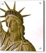 Liberty Up Close Acrylic Print