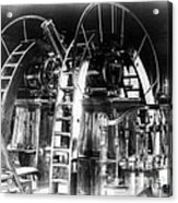 Lick Observatory, Meridian Instrument Acrylic Print