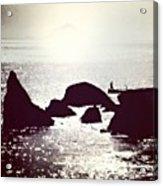 Life By The Seaside #sea #light #italy Acrylic Print