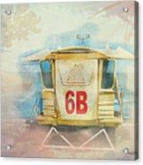Lifeguard Post No 6b Hookipa State Park Acrylic Print