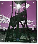 Lifeguard Tower II Acrylic Print