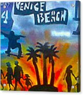 Life's A Beach Acrylic Print by Tony B Conscious