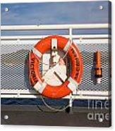 Lifesaver On The Spirit Of British Columbia Acrylic Print