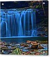 Light Blue Falls Acrylic Print