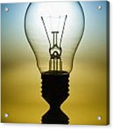 Light Bulb Acrylic Print by Setsiri Silapasuwanchai