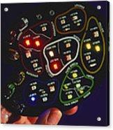 Light-emitting Diodes Acrylic Print