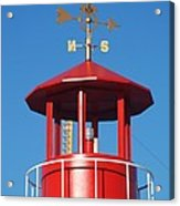 Light House On Coney Island Acrylic Print