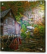 Light On The Mill Acrylic Print