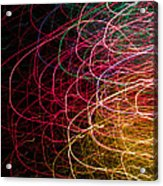 Light Painting 6 Acrylic Print