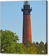 Lighthouse At Corolla N C Acrylic Print