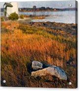 Lighthouse At Dawn Acrylic Print