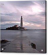 Lighthouse Before Sunrise Acrylic Print