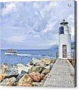 Lighthouse Camogli Acrylic Print